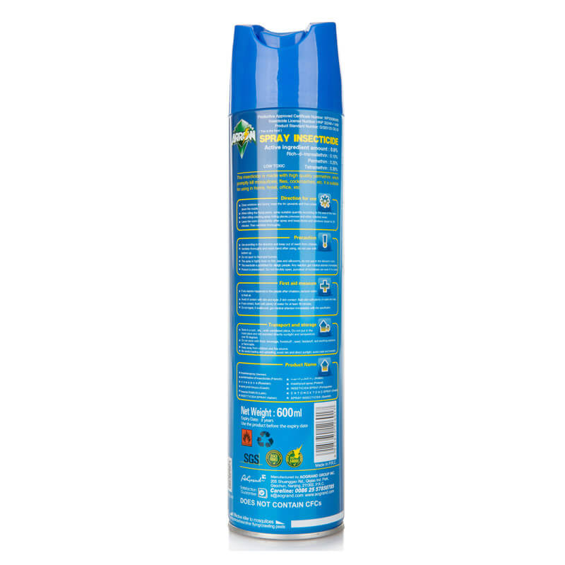 Insecticide Spray Healthy Smelless ARROW