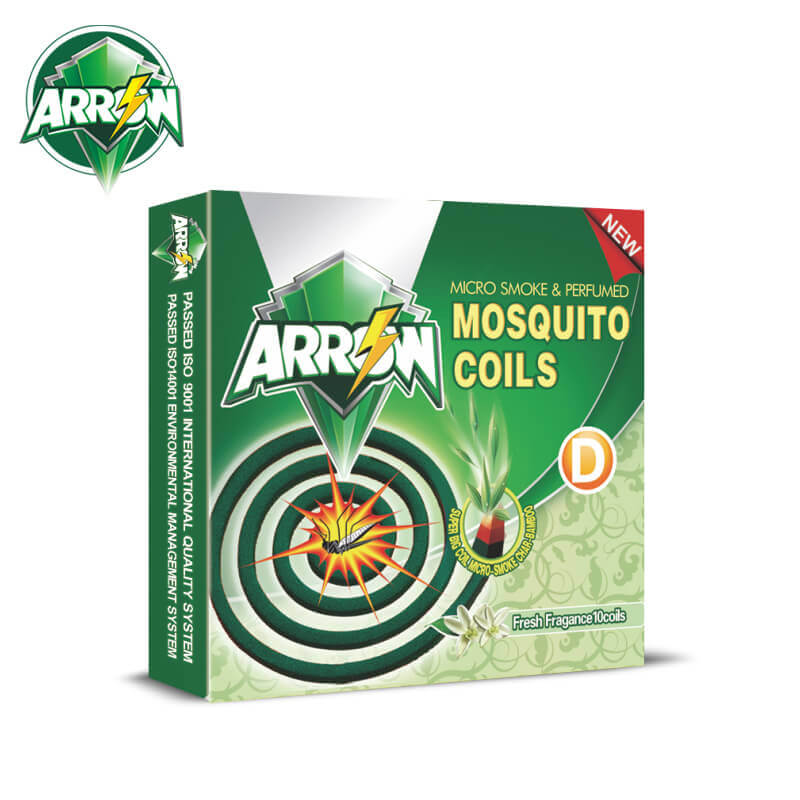 Micro-Smoke Mosquito Coils Fresh Fragance Big D ARROW
