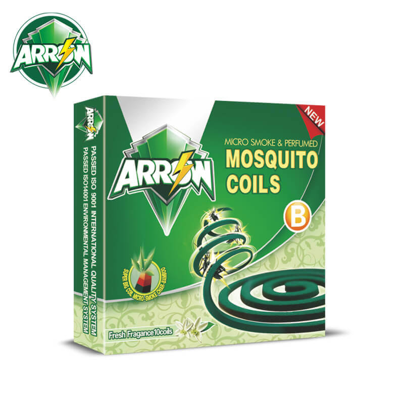Micro-Smoke Mosquito Coils Fresh Fragance Super Big B ARROW